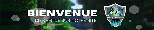 Serveur Minecraft Gaming-Adventure